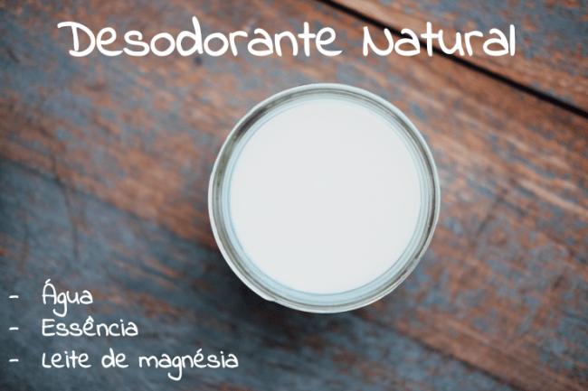 receita desodorante natural