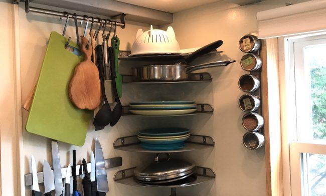 cozinha como guardar utensilios