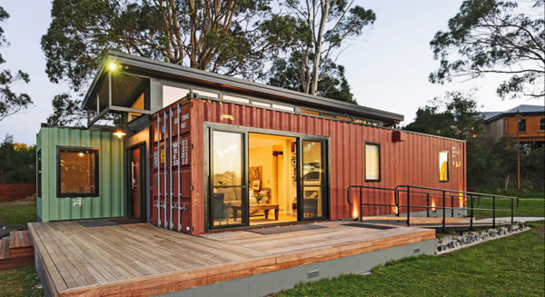 casa container construida por empresa especializada