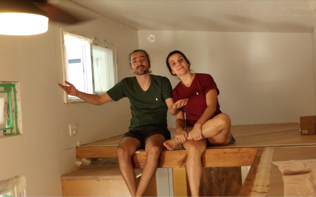 CONSTRUÇÃO DA TINY HOUSE – EP. 7 >> OS LOFTS