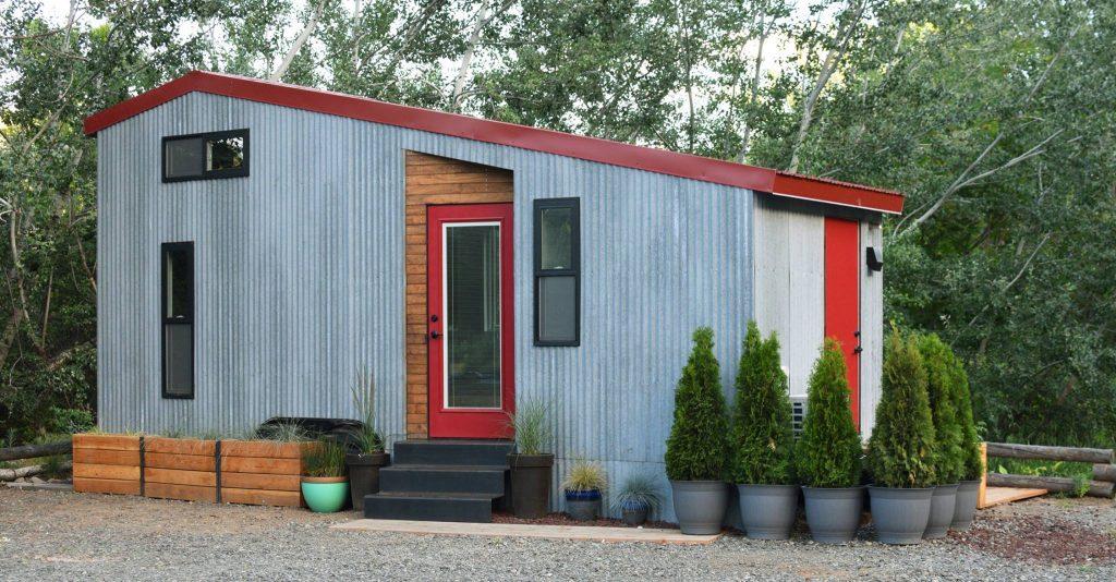 mini casa sobre rodas sustentavel