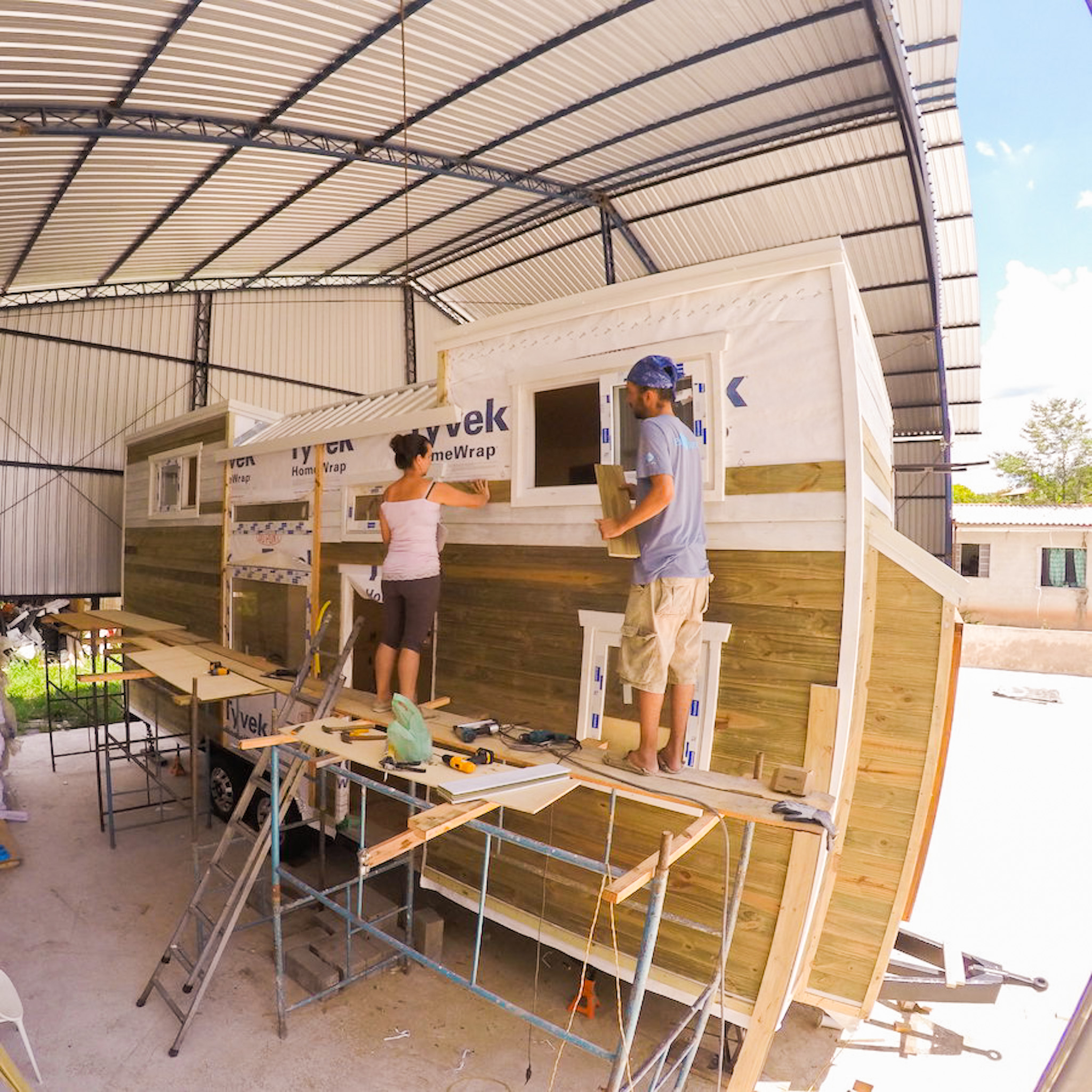 como construir tiny house brasil