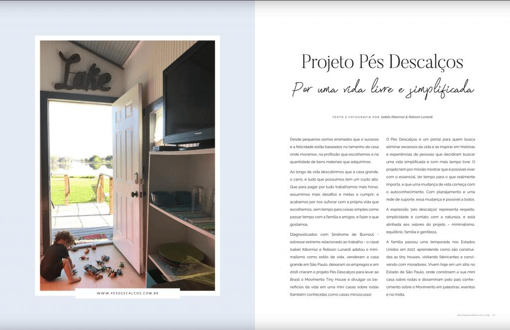 mini casa e minimalismo estilo de vida